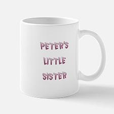 PETER'S LITTLE SISTER Mug