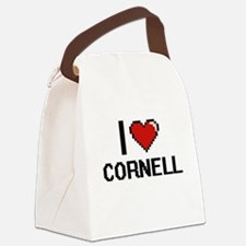I Love Cornell Canvas Lunch Bag