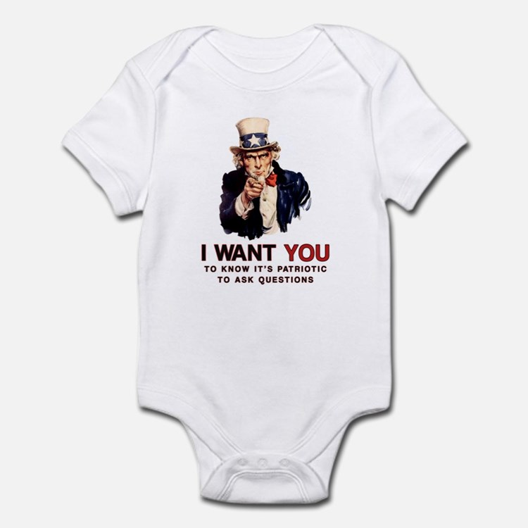 Ask Questions Political Infant Bodysuit