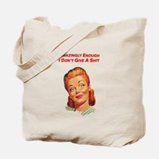 Funny housewife Tote Bag