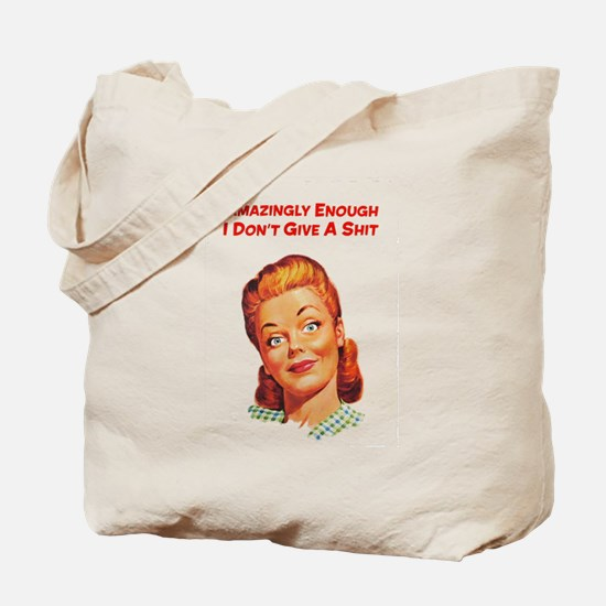 Cute Retro Tote Bag