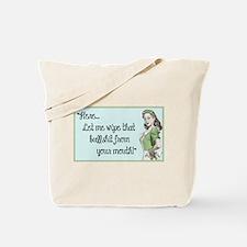 Funny 1950s Tote Bag
