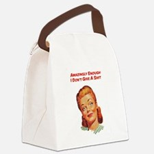 Unique Retro humor Canvas Lunch Bag