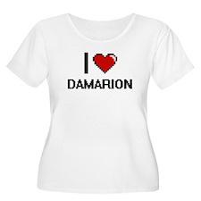 I Love Damarion Plus Size T-Shirt