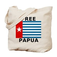 Free Papua Flag Double Sided Tote Bag