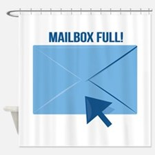 Mailbox Full Shower Curtain