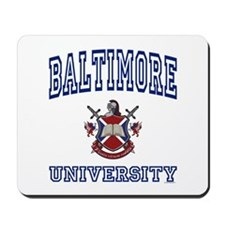BALTIMORE University Mousepad