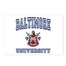 BALTIMORE University Postcards (Package of 8)