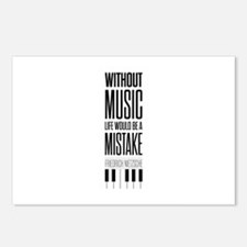 Friedrich Nietzsche Quote Postcards (Package of 8)