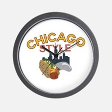 Chicago Style Wall Clock