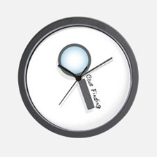 Clue Finding Wall Clock