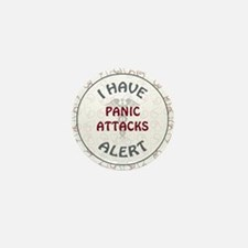 PANIC ATTACKS Mini Button