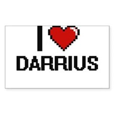 I Love Darrius Decal