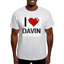 I Love Davin T-Shirt