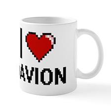 I Love Davion Mug