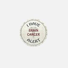 BRAIN CANCER Mini Button