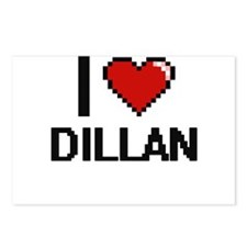 I Love Dillan Postcards (Package of 8)