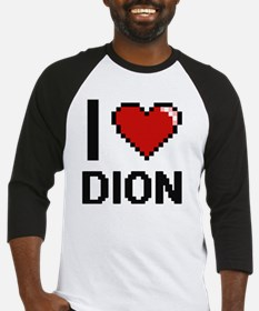 Unique I heart dion Baseball Jersey