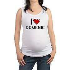 I Love Domenic Maternity Tank Top