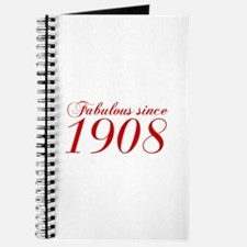 Fabulous since 1908-Cho Bod red2 300 Journal