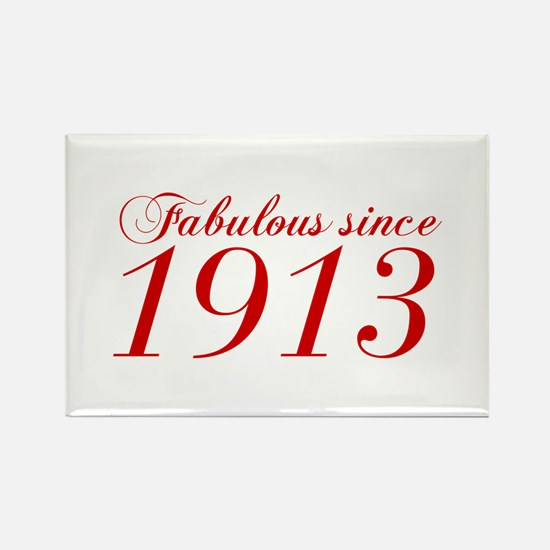 Fabulous since 1913-Cho Bod red2 300 Magnets
