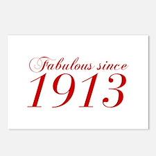 Fabulous since 1913-Cho Bod red2 300 Postcards (Pa