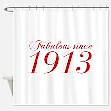Fabulous since 1913-Cho Bod red2 300 Shower Curtai