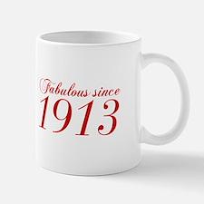 Fabulous since 1913-Cho Bod red2 300 Mugs