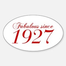 Fabulous since 1927-Cho Bod red2 300 Decal