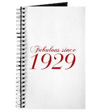 Fabulous since 1929-Cho Bod red2 300 Journal