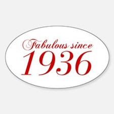 Fabulous since 1936-Cho Bod red2 300 Decal