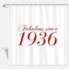 Fabulous since 1936-Cho Bod red2 300 Shower Curtai
