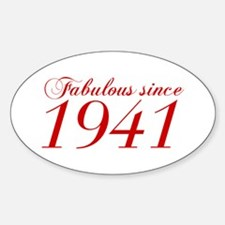 Fabulous since 1941-Cho Bod red2 300 Decal