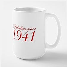 Fabulous since 1941-Cho Bod red2 300 Mugs