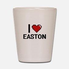 I Love Easton Shot Glass