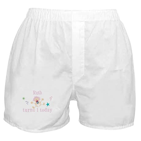 Ruth turns 1 today Boxer Shorts