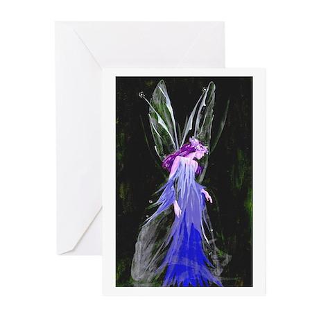 Ice Faerie (Original) Greeting Cards (Pk of 10)