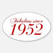 Fabulous since 1952-Cho Bod red2 300 Decal
