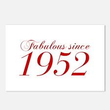 Fabulous since 1952-Cho Bod red2 300 Postcards (Pa