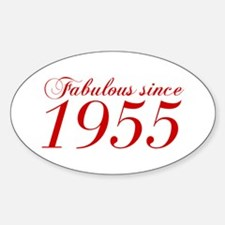 Fabulous since 1955-Cho Bod red2 300 Decal