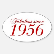 Fabulous since 1956-Cho Bod red2 300 Decal