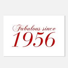 Fabulous since 1956-Cho Bod red2 300 Postcards (Pa