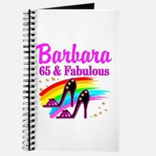 65 AND FABULOUS Journal