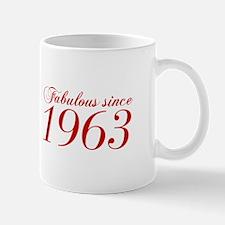 Fabulous since 1963-Cho Bod red2 300 Mugs