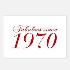 Fabulous since 1970-Cho Bod red2 300 Postcards (Pa