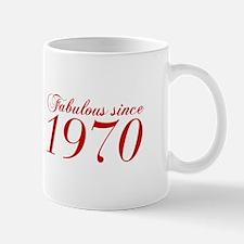 Fabulous since 1970-Cho Bod red2 300 Mugs