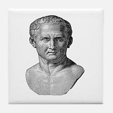 """""""Marcus Tullius Cicero"""" Tile Coaster"""