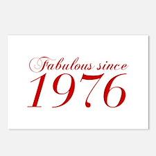 Fabulous since 1976-Cho Bod red2 300 Postcards (Pa