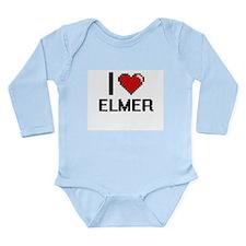 I Love Elmer Body Suit
