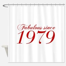 Fabulous since 1979-Cho Bod red2 300 Shower Curtai
